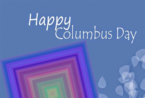 Meaningful Columbus Day Greeting Cards