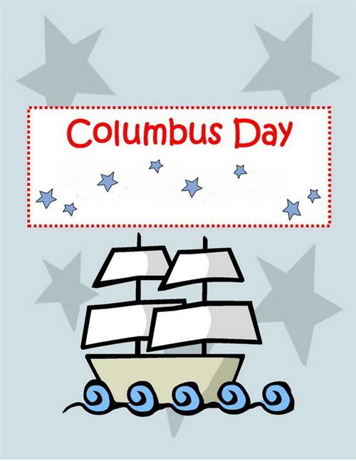 Best Free Columbus Day Greeting Cards