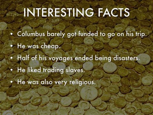 Meaningful Christopher Columbus History Facts For Kids