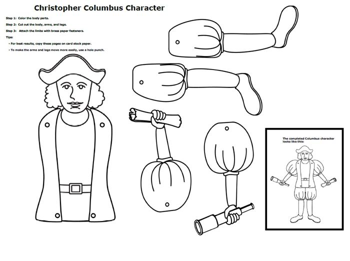 Top Columbus Day Worksheets For Elementary