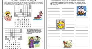Top Columbus Day Worksheets For Middle School