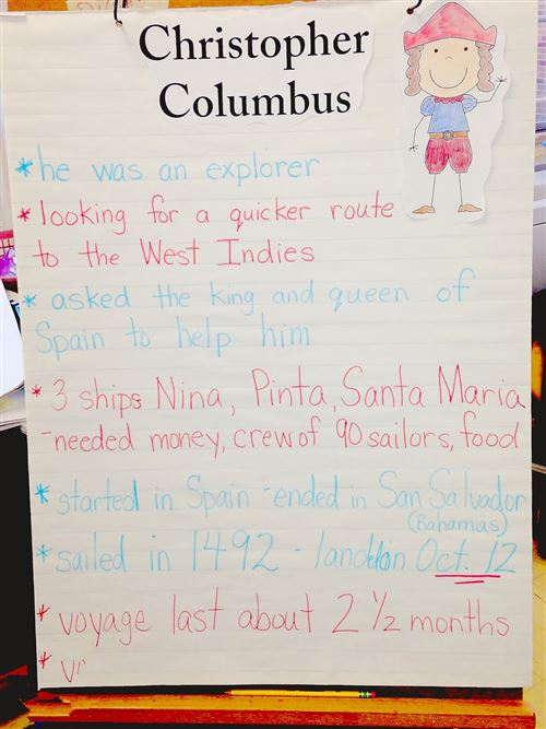 Meaningful Columbus Day Lesson Plans Second Grade