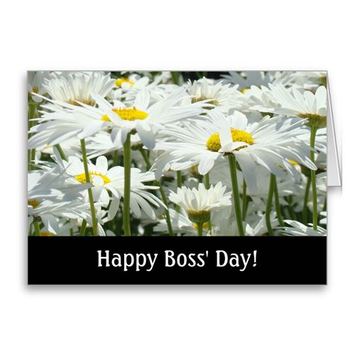 Best Happy Boss's Day Greeting Card Templates