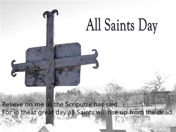Best All Saints Day Quotes And Sayings