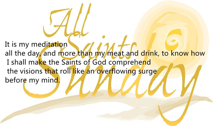 Meaningful All Saints Day Quotes And Sayings
