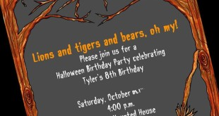 Best Halloween Party Invitations Ideas