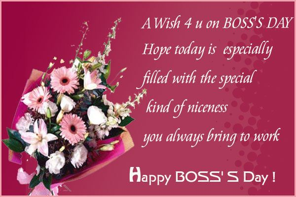 Meaningful Happy Boss's Day Quotes Messages