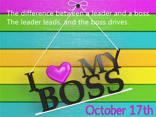 Best Happy Boss's Day Thank You Quotes