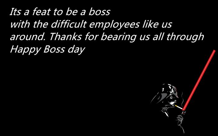Unique Sample Message For Boss's Day
