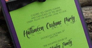 Easy DIY Halloween Party Invitations