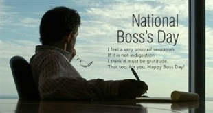 Famous Happy Boss's Day Greetings Quotes