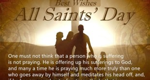 Famous November 1st All Saints Day Quotes