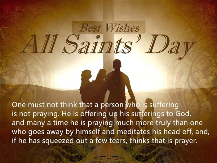 Meaningful November 1st All Saints Day Quotes