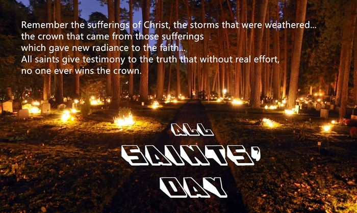 Free All Saints Day Images With Quotes