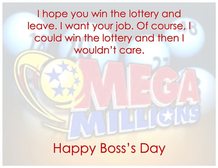 Funny Happy Boss's Day Messages