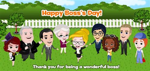 Funny Happy Boss's Day Wishes