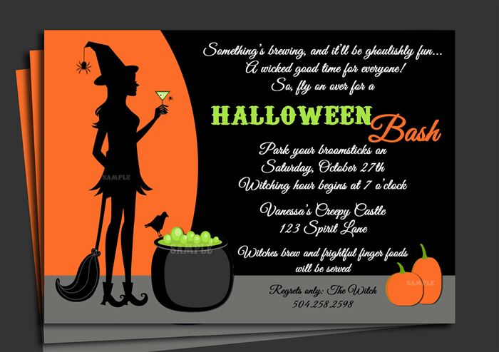 Best Halloween Sayings For Invitations