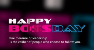 Meaningful Happy Boss's Day Wishes Quotes