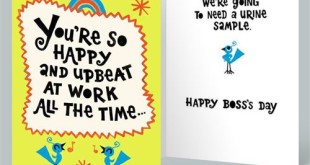 Top Funny Happy Boss's Day Greetings