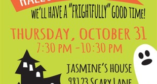 Top Halloween Invitation Wording Samples