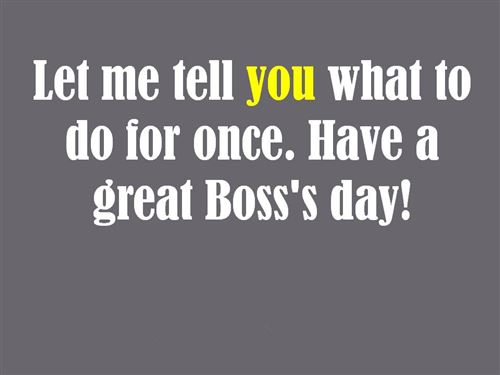 Top Happy Boss's Day Sayings Wishes