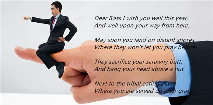Top Humorous Happy Boss's Day Poems
