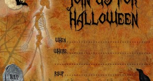 Unique Halloween Party Invitations Templates