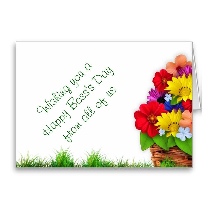 Meaningful Happy Boss's Day Greeting Cards Messages