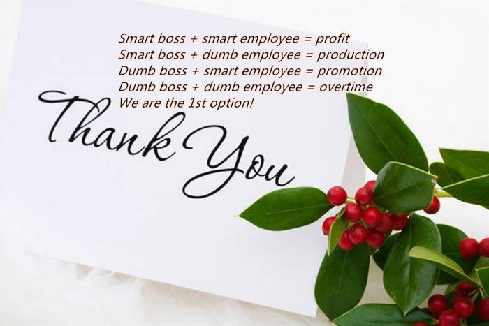 Unique Thank You Messages For Boss's Day