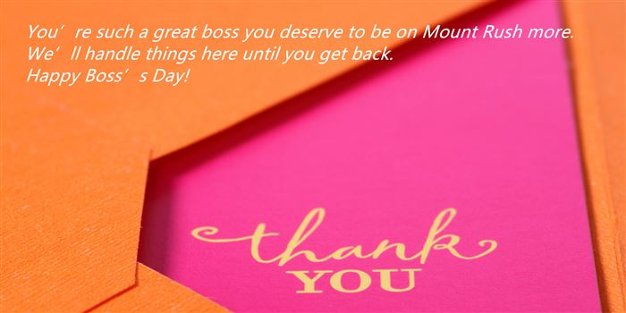 Best Thank You Messages For Boss's Day