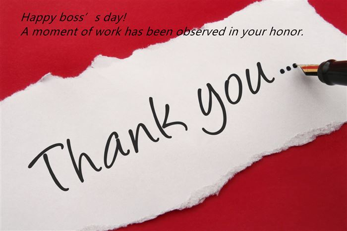 Meaningful Thank You Messages For Boss's Day