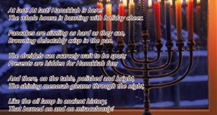 Best Free Happy Hanukkah Poems For Kids