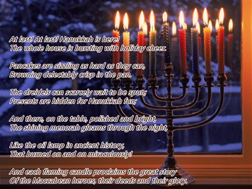 Free Meaningful Happy Hanukkah Poems For Kids