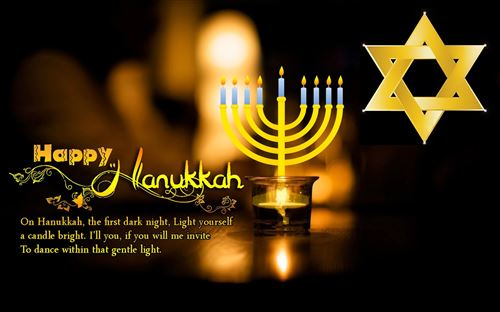 Meaningful Happy Hanukkah Greetings Quotes