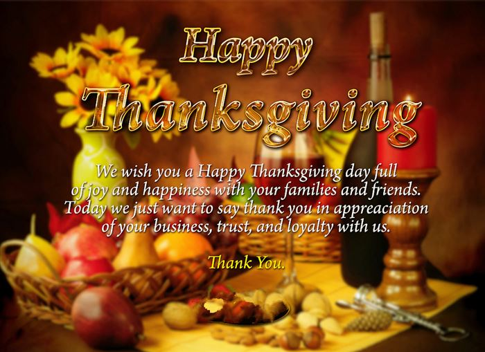 Best Happy Thanksgiving Wishes Sayings