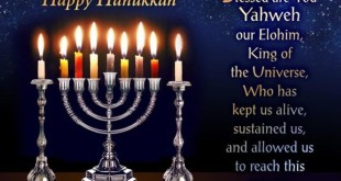 Best Messianic Happy Hanukkah Blessings