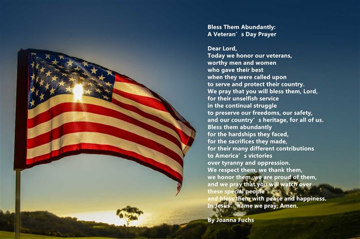 Catholic Prayers For Happy Veterans Day