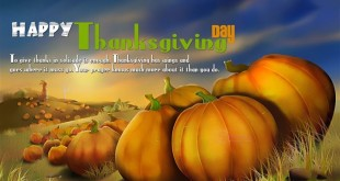 Inspirational Happy Thanksgiving Sayings For Cards