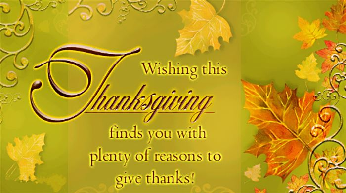 Famous Happy Thanksgiving Sayings For Cards