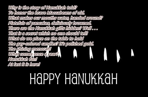 Best Happy Hanukkah Poems For Children Free