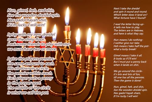 Unique Happy Hanukkah Poems For Children Free