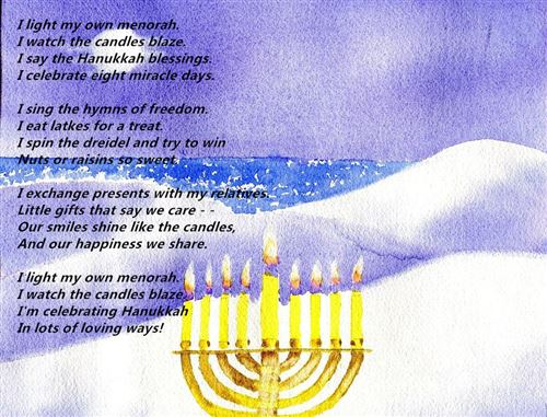 Best Happy Hanukkah Poems For Kindergarten Free