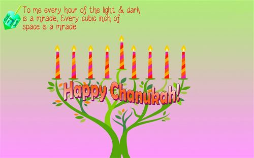 Inspirational Happy Hanukkah Wishes Quotes