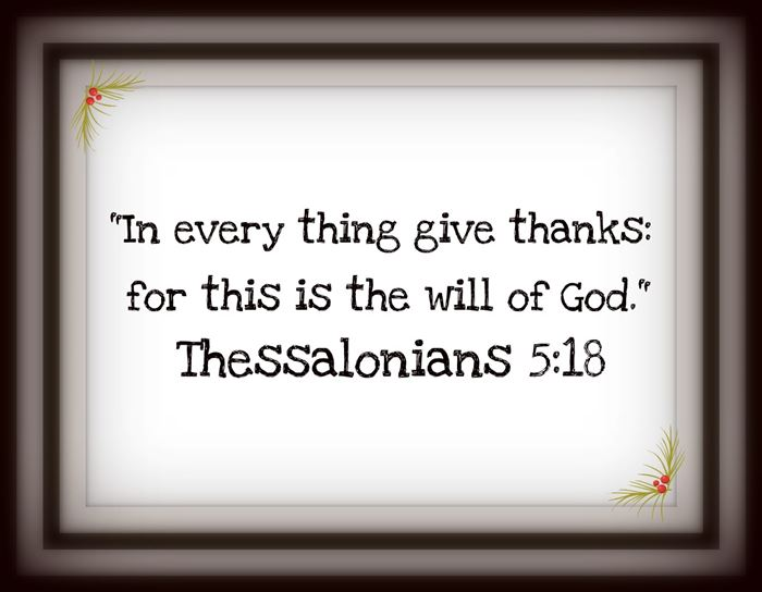Short Happy Thanksgiving Bible Verses Quotes