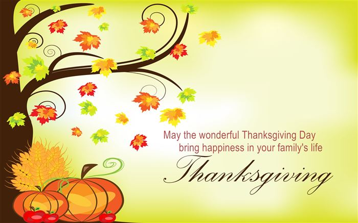 Beautiful Happy Thanksgiving Day Messages Sample