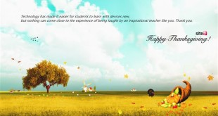 Meaningful Happy Thanksgiving Day Quotes For Teachers