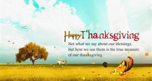Meaningful Happy Thanksgiving Greetings Cards Messages