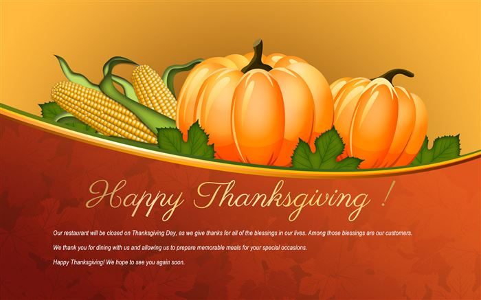 Meaningful Happy Thanksgiving Messages For Clients
