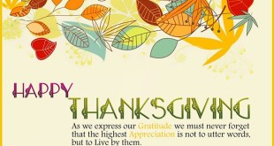 Meaningful Happy Thanksgiving Quotes For Cards