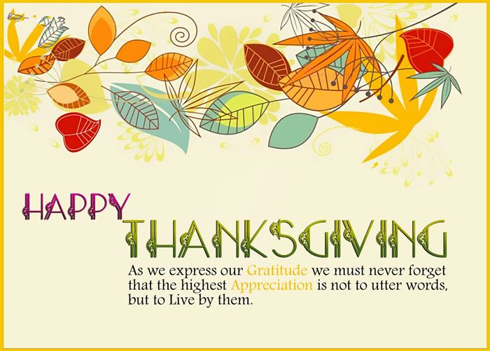 Best Happy Thanksgiving Quotes For Cards